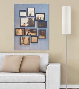 Kreative wandbilder mit eigenes fotos gestalten die - Leinwand selbst gestalten ...
